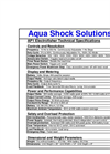 Aqua Shock - Model AP1 - Backpack Electrofisher Brochure