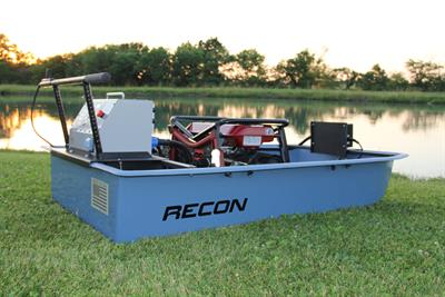 Recon - Mini-Boat Tote Barge Electrofishing System