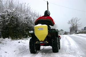 Quad-X - Model 50kg - Salt Spreader