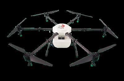 Fly dragon - Model FDXD-6R-16L - 6 rotors plant protection UAV 16KGS  agriculture sprayer