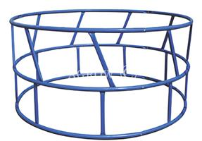 Agrow - Model FRS-FW - Weld Steel Round Bale Feeder