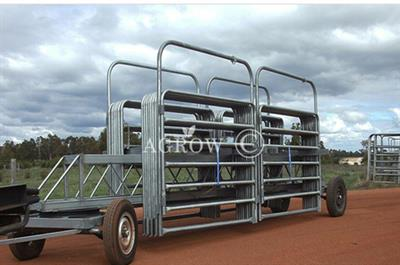 Agrow - Model FRS-FG - Galvanized Weld Steel Cattle Yard System