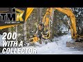 TMK 200 With A Collector In 4K // TMK Tree Shear Video