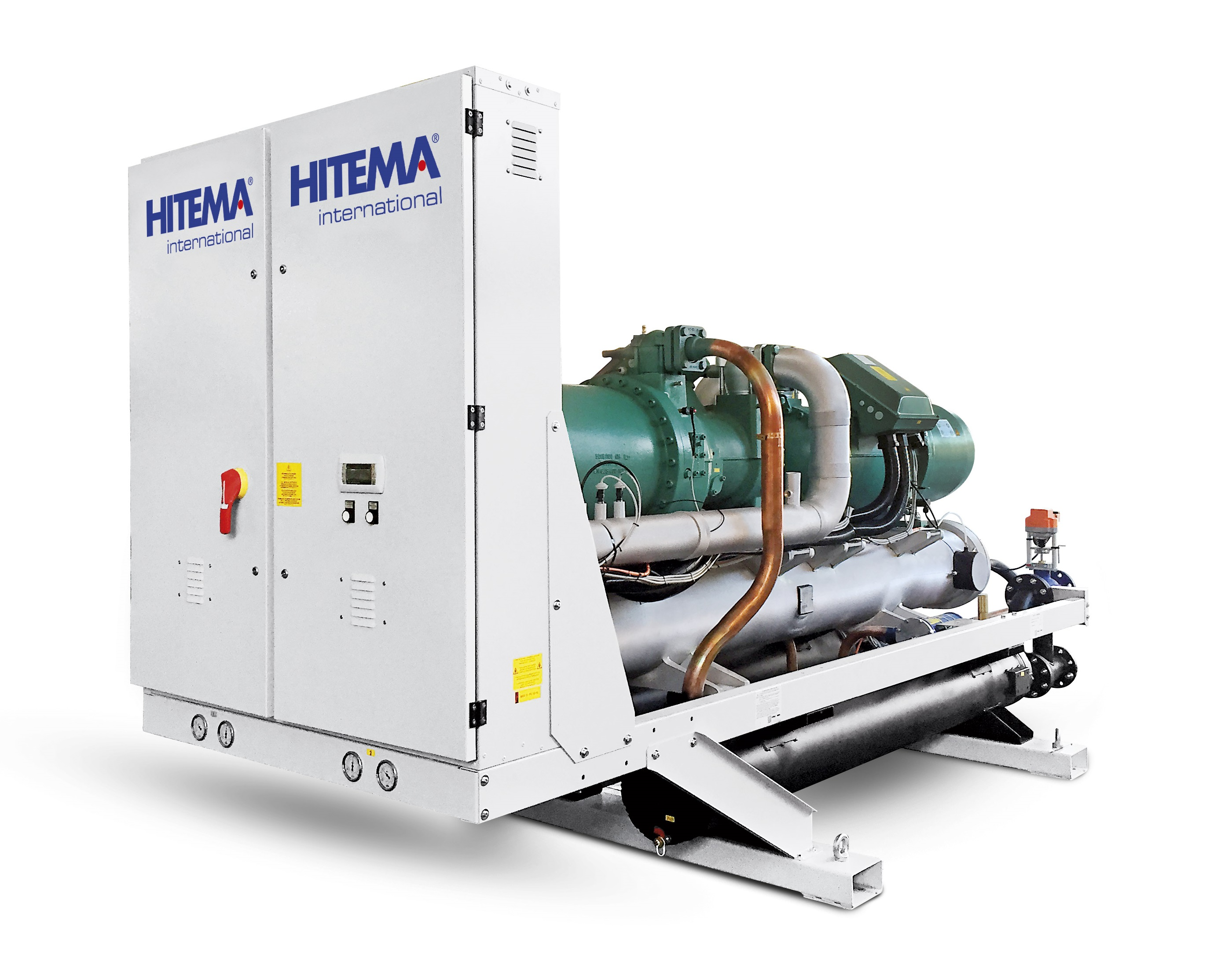 Hitema - Model EWB / CWB Series - Watercooled / Condenserless Liquid Chillers Cooling Capacity Range 291kW - 2240kW for Wineries, Agriculture & Farming & More