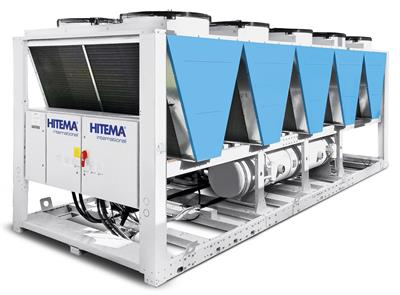 Hitema - Model AHF Series - Free-Cooling Liquid Chillers with EC Axial Fans for Wineries, Agriculture & Farming & More