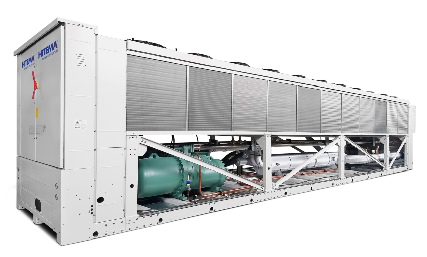Hitema - Model NOVAF Series - Free-Cooling Liquid Chillers Cooling Capacity Range 266kW ? 1534kW for Wineries, Agriculture & Farming & More