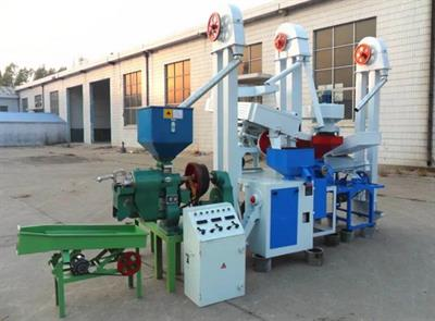 Victor - Model 6LN-15 - Paddy Rice Mill Production Plant