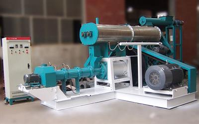 Azeus - Model AZS-DSP - Wet Type Floating Fish Feed Extruder