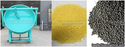 The working principle of the disc granulator in the fertilizer production line