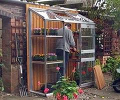Dovetail - Model 2ft Wide - Lean-to Greenhouse
