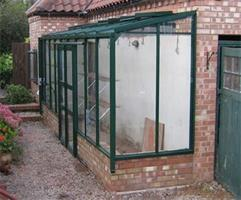 Dovetail - Model 4ft Wide - Lean To Greenhouse