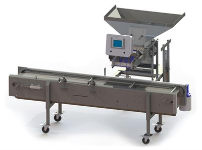 A-B-Packing - Model BFA2350 - Hands Free Automatic Box Filler