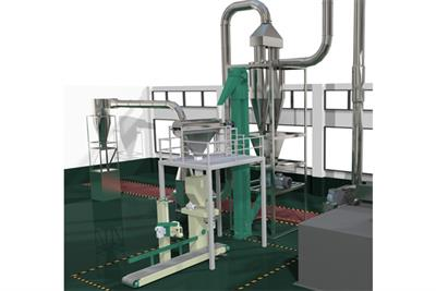 Cassava - Flour Machine