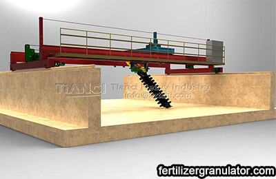 Professional compost turner manufacturers recommend fermentation equipment