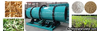 Industrialized Rotary Drum Granulator Organic Fertilizer Manufacturing Process