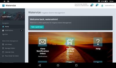 Watervize - Irrigation District Management