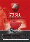 Model 733R - Single Disc Centrifugal Fertilizer Spreader Brochure